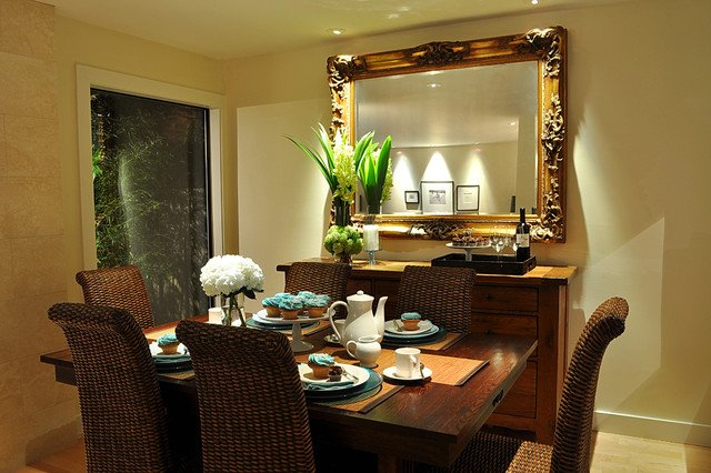 Dining Rooms Incorporating Mirrors Image Via Www Houzz
