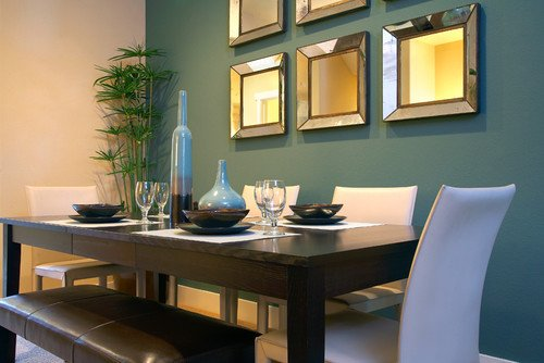 20 Beautiful Dining Rooms Incorporating Mirrors