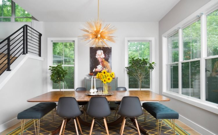 20 Dining Rooms Incorporating Negative Space