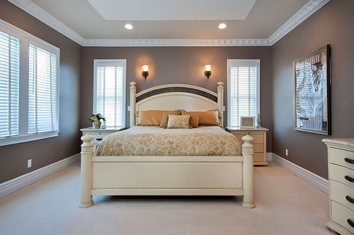 Bedroom Ceiling Design With Paint
