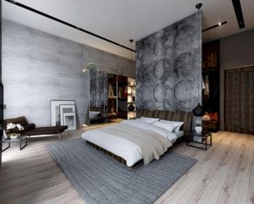 20 Beautiful Bedroom Designs Incorporating Concrete Modern Homes Interior  Design Home Decorating Ideas Luxury