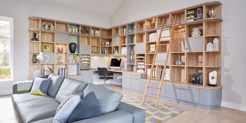 20 Living Room Designs With Great Storage Space
