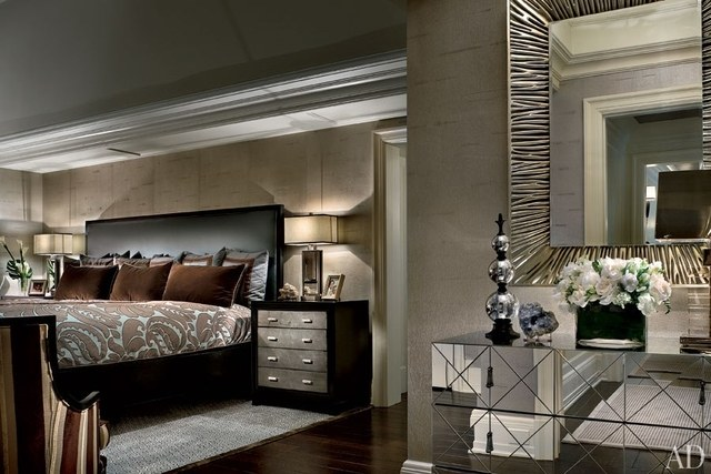 celebrity bedrooms. 7  The Top 20 Celebrity Bedrooms in the United States