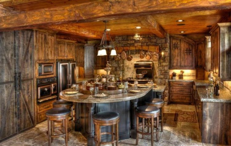 20 Rustic Barn-Style House Ideas for Inspiration on Rustic Traditional Decor  id=48122