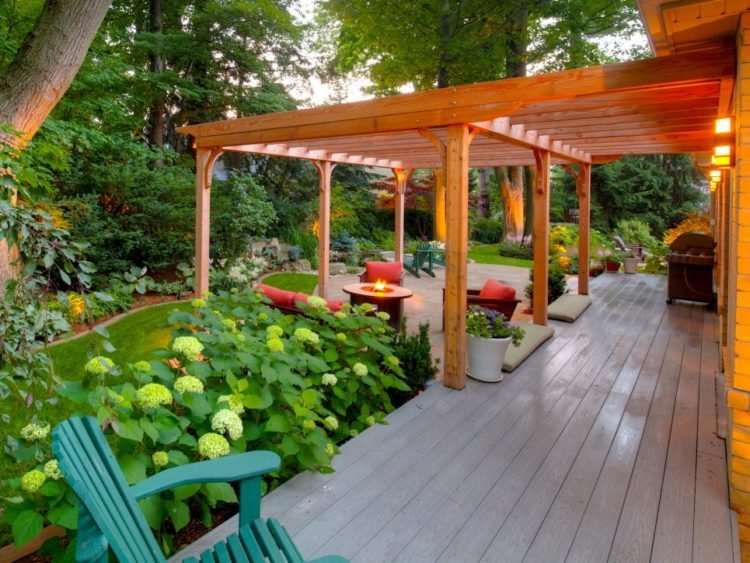 Here Are 20 Beautiful Wood Patio Ideas: