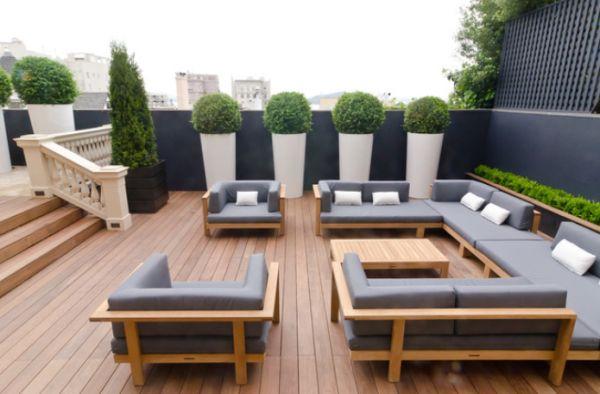 20 Beautiful Wood Patio Ideas