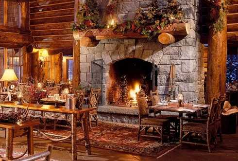 20 cabin designs for those who want warm and cozy - Cabins Decorated For Christmas