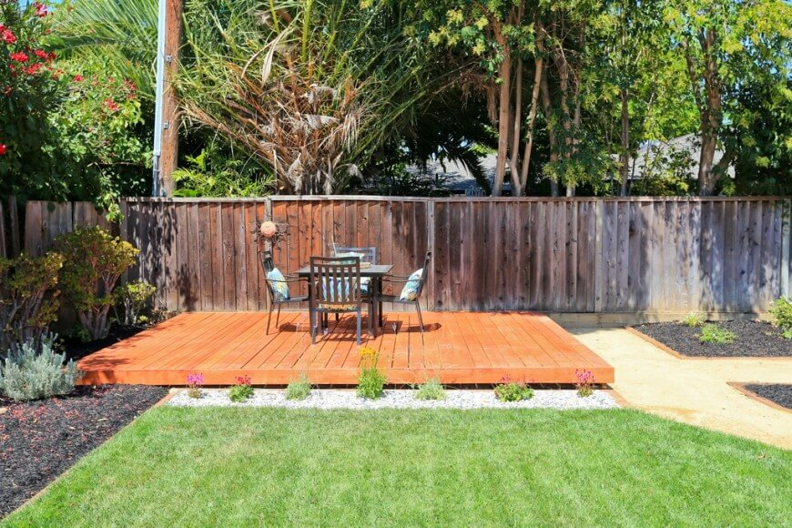 How To Build A Freestanding Grond Level Deck