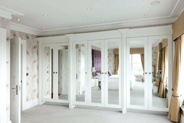 One Of The Things To Experiment With When Considering A Mirrored Closet Door  Is Location. If You Have A Walk In Closet With Four Panels, You Could Put A  ...