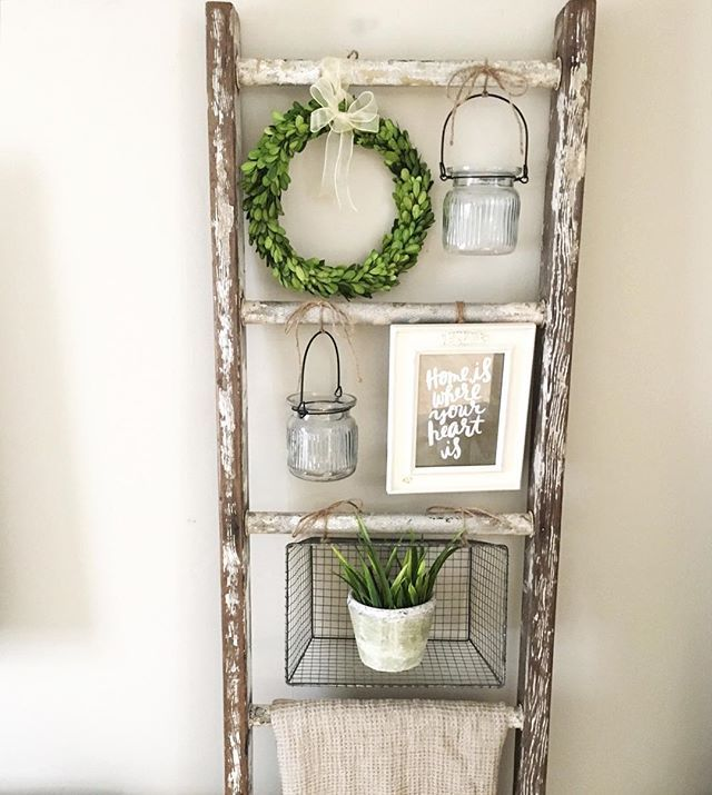 10 Ways To Make The Best Use Of A Ladder Shelf