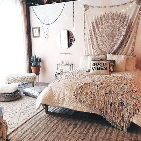 terrific cute bohemian bedroom ideas | 20 Gorgeous Boho Bedroom Decorating Ideas