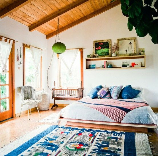 image via wwwandromedocom - Boho Bedroom Ideas