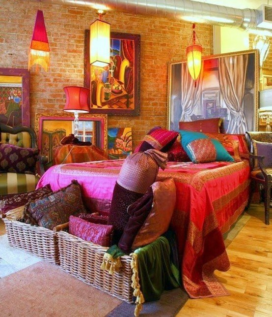 Hippie Chic Bedroom Ideas 2 Magnificent Design