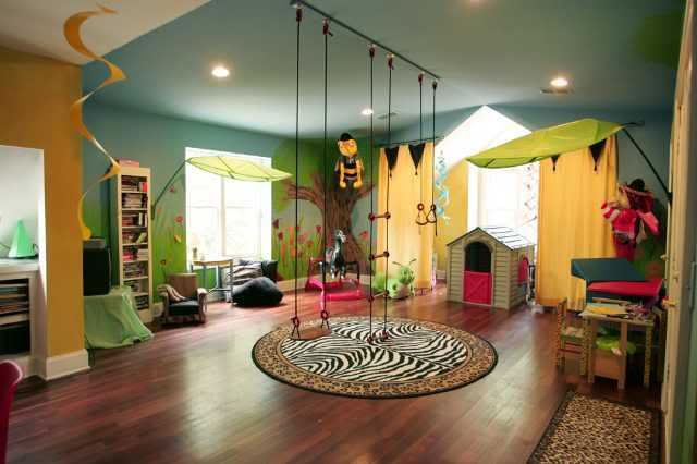 20 kids playroom ideas that will give you inspiration for Living room playroom inspiration