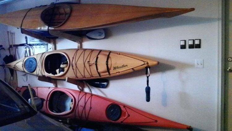The Top Five Kayak Storage Ideas