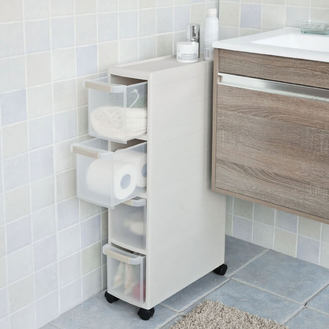 bathroom medicine cabinet with storage