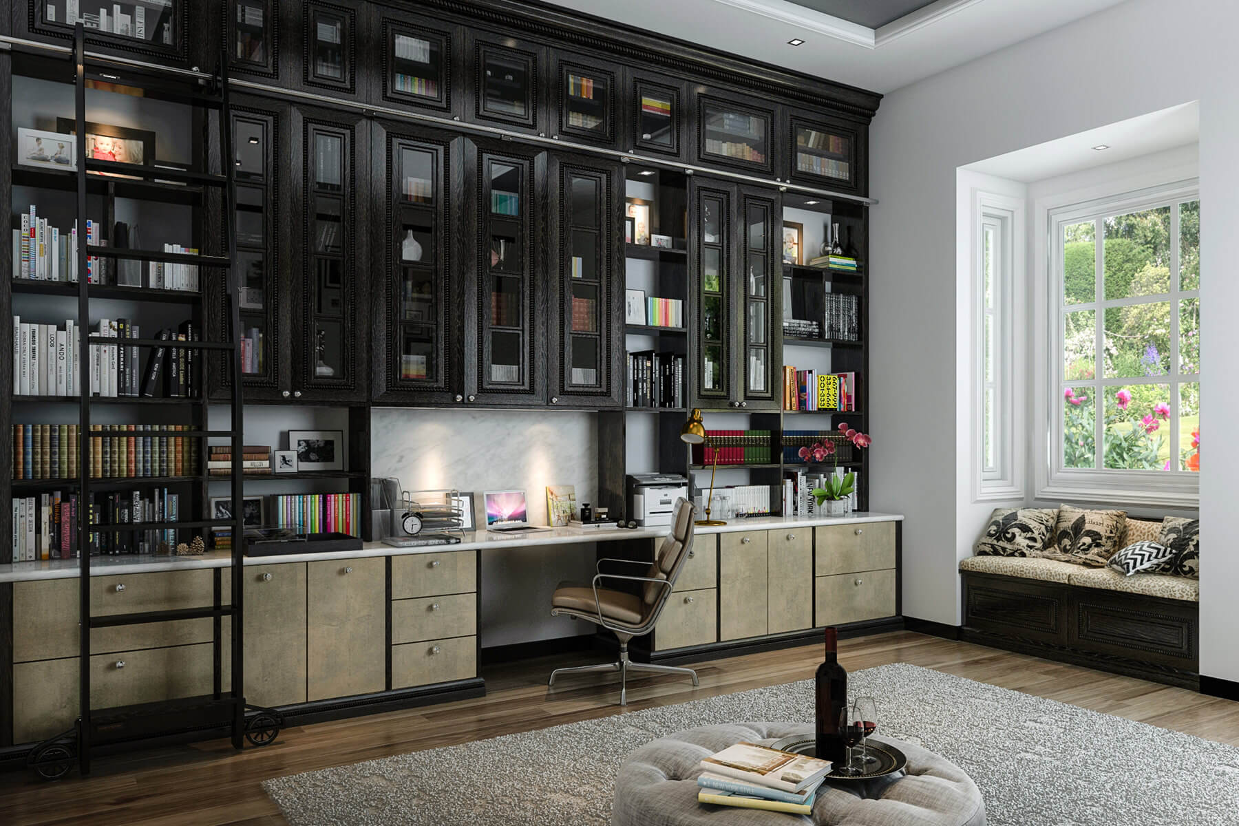 Built-In Shelving Units: A Top Office Trend in 2019