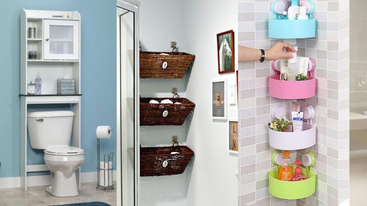 20 small bathrooms with creative storage ideas - Clever storage ideas for small bathrooms ...