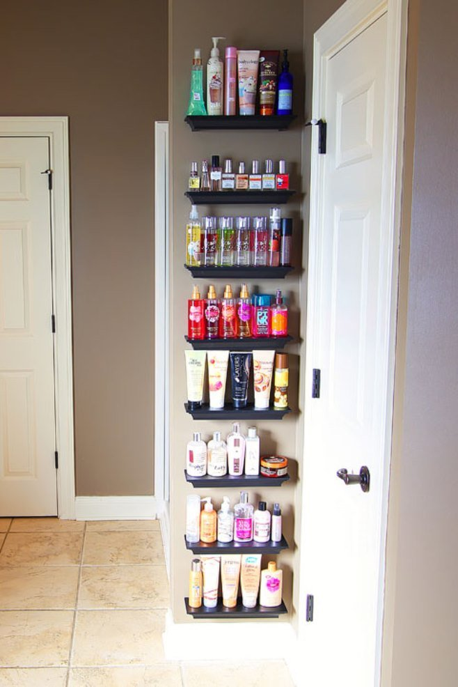 cool behind the door storage
