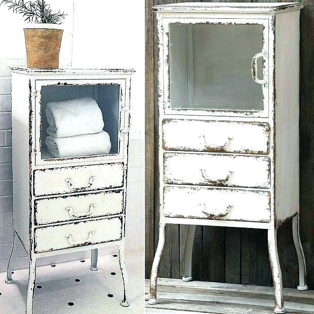 farmhouse storage cabinet for bathroom