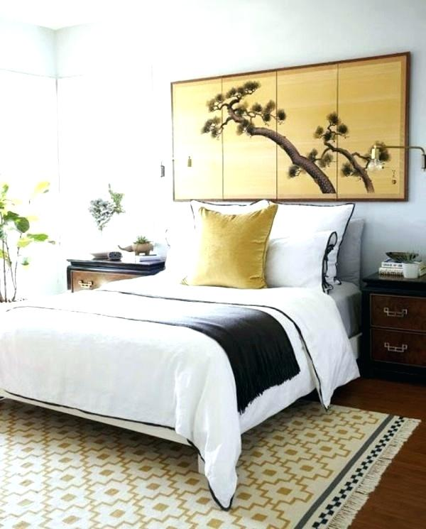 bedroom with feng shui decor