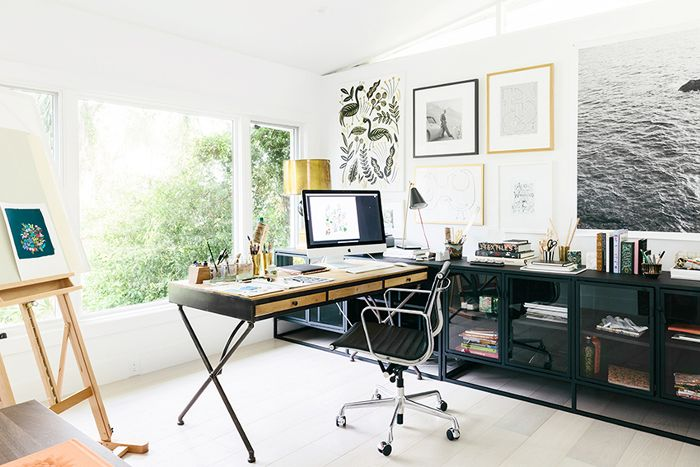 feng shui home office with nice view