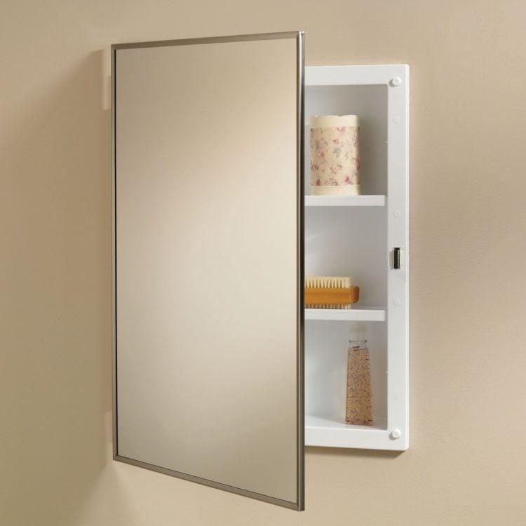 bathroom medicine cabinet with storage