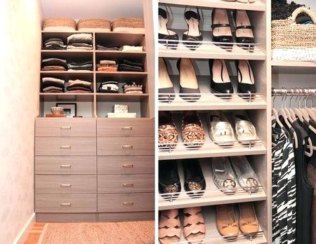 20 Awesome Small Walk-in Closet Storage Ideas