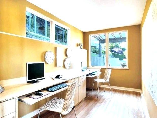 yellow office design