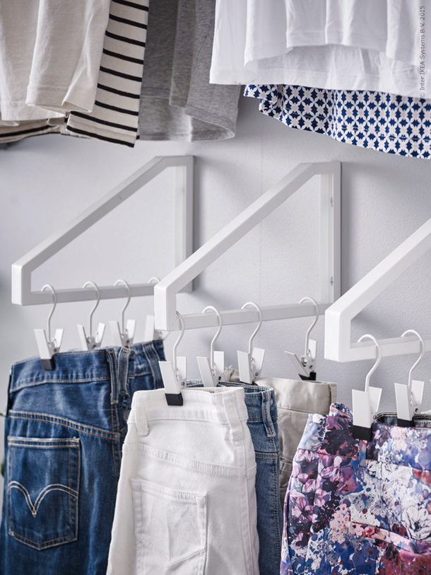 cool hangers for small closet