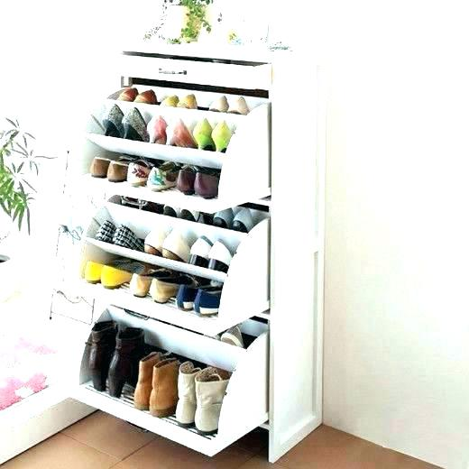 cool shoe storage for small closet
