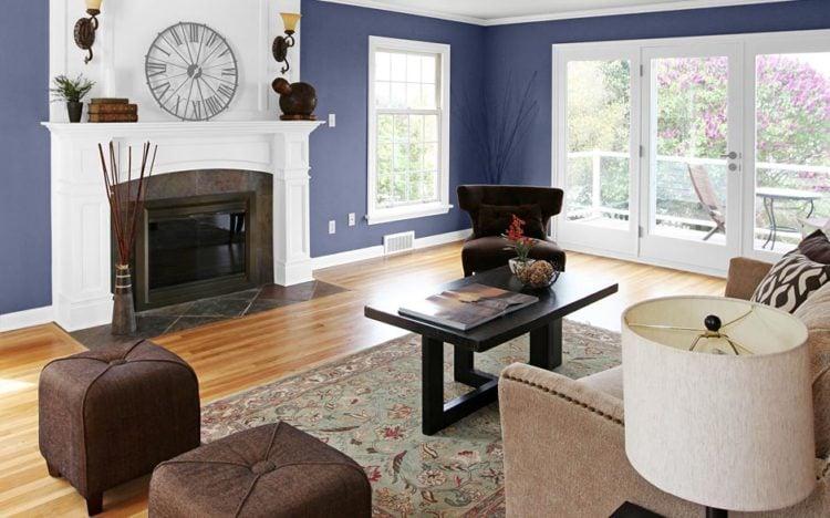 designer paint color living room