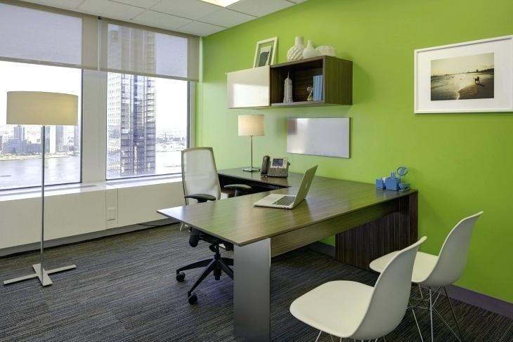 Lime Green Office Space