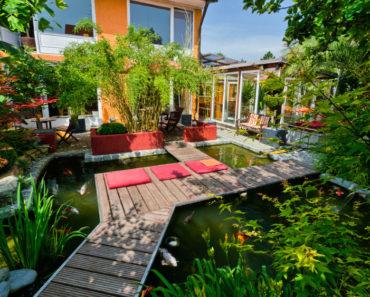 20 Gorgeous Backyard Pond Designs