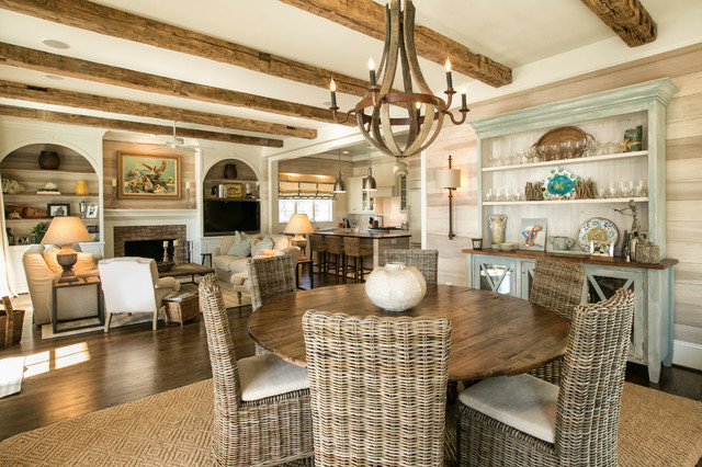 20 Awesome Beach Dining Room Designs For Inspiration