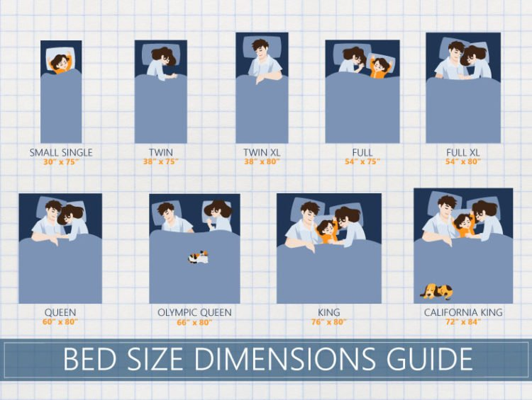 Excellent How To Determine Which Bed Size Is Right For You Download Free Architecture Designs Scobabritishbridgeorg