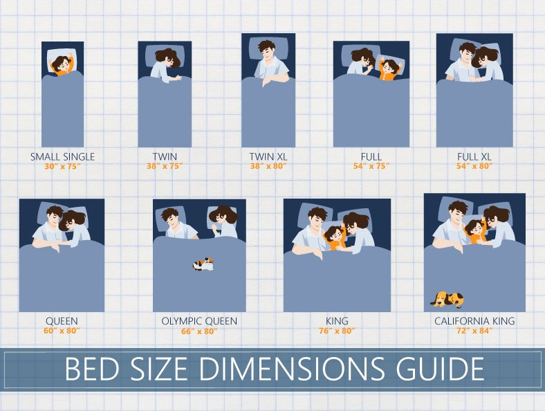 How To Determine Which Bed Size Is Right For You