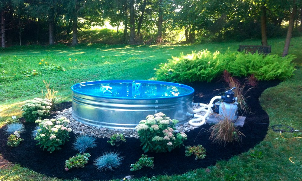What is a stock tank pool and why do you need one - How to warm up swimming pool water ...