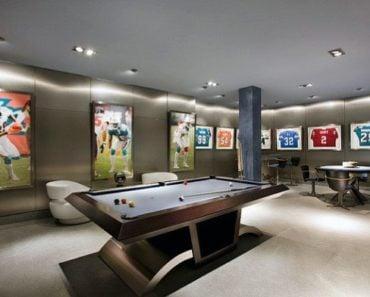 20 Amazing Sports Themed Basement Designs