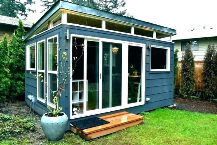 20 Awesome Backyard Office Shed Ideas