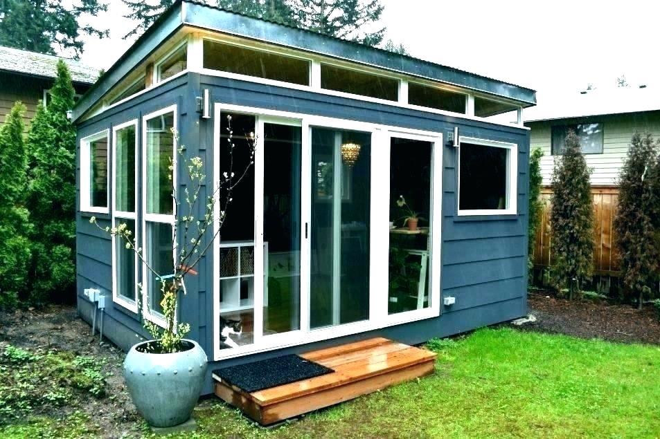 20 Awesome Backyard Office Shed Ideas