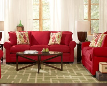 20 Beautiful Red Living Room Design Ideas to Consider
