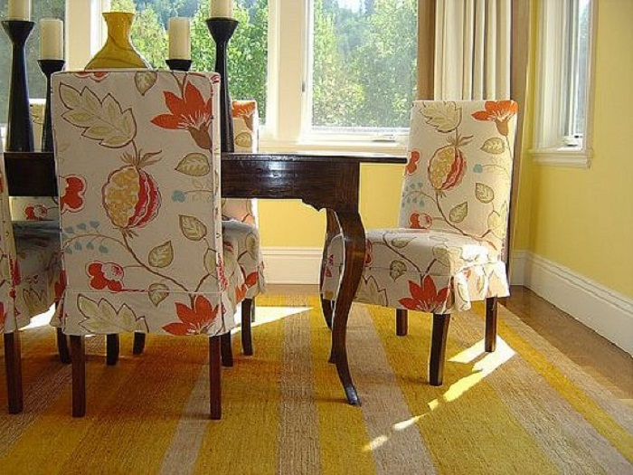 Surprising 20 Interesting Dining Room Chair Cover Ideas Squirreltailoven Fun Painted Chair Ideas Images Squirreltailovenorg