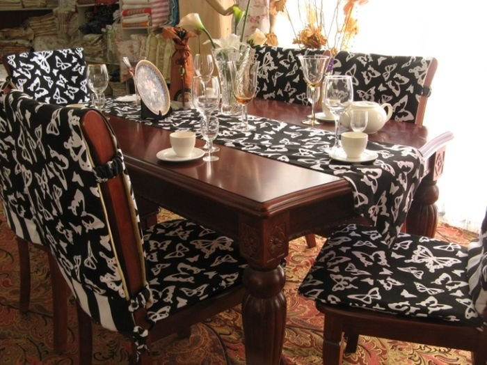 20 Interesting Dining Room Chair Cover Ideas