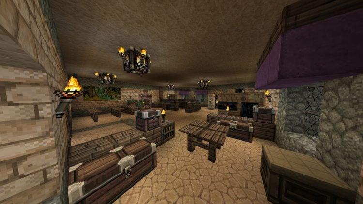 20 Living Room Ideas Designed In Minecraft