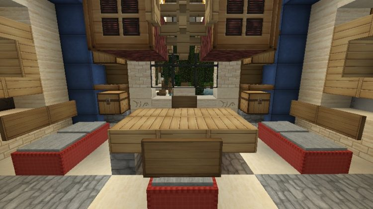 20 Living Room Ideas Designed in Minecraft