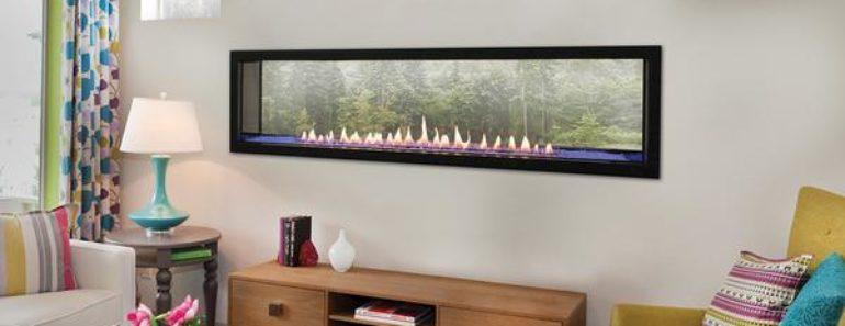Ventless Gas Fireplace