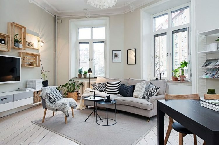 Qualities of both French and Nordic Home Design