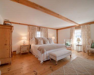 Nantucket White Master Bedroom