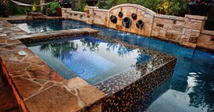 20 Gorgeous Pool Designs with Alternative Finishes